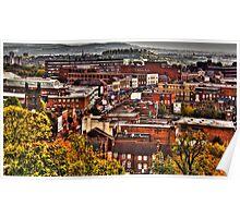 Dudley High Street West Midlands UK HDR Image  Poster