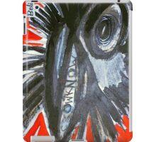 believe crow know iPad Case/Skin