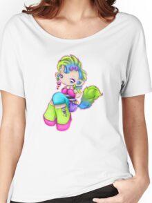Punk Rock Kitty Girl Women's Relaxed Fit T-Shirt