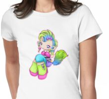 Punk Rock Kitty Girl Womens Fitted T-Shirt