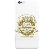 Cryptids Club (Light Shirt Version) iPhone Case/Skin