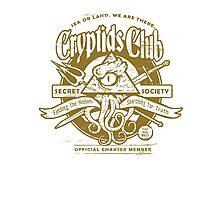 Cryptids Club (Light Shirt Version) Photographic Print