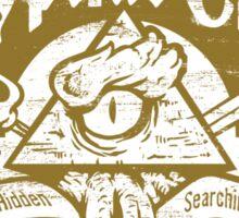 Cryptids Club (Light Shirt Version) Sticker