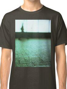Man walking in city street Hasselblad medium format analog film Classic T-Shirt