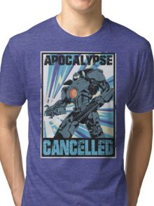 Apocalypse Cancelled Tri-blend T-Shirt