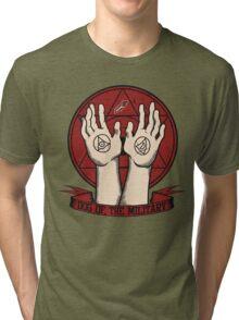 Dog of the Military: Crimson Tri-blend T-Shirt