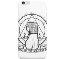 Dog of the Military: Strong Arm iPhone Case/Skin