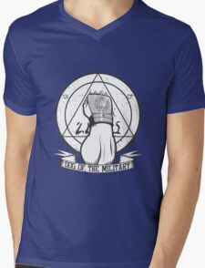 Dog of the Military: Strong Arm Mens V-Neck T-Shirt