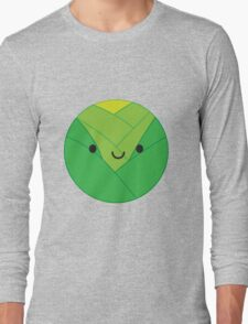 Kawaii Brussels Sprout / Cabbage Long Sleeve T-Shirt