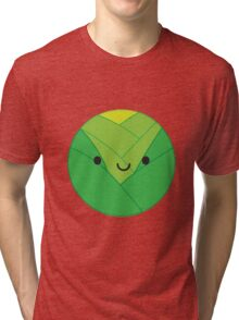 Kawaii Brussels Sprout / Cabbage Tri-blend T-Shirt
