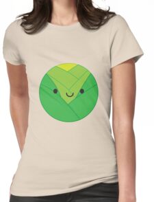 Kawaii Brussels Sprout / Cabbage Womens Fitted T-Shirt