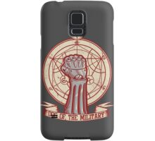 Dog of the Military: Full Metal Samsung Galaxy Case/Skin