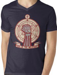 Dog of the Military: Full Metal Mens V-Neck T-Shirt
