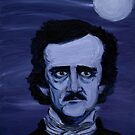 Edgar Allan Poe Study by Conrad Stryker
