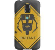Caution: Irritant Samsung Galaxy Case/Skin