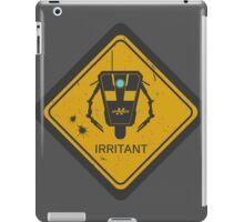 Caution: Irritant iPad Case/Skin