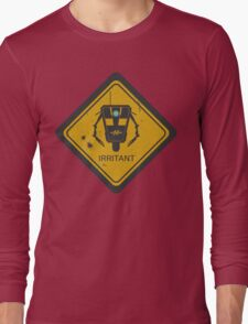Caution: Irritant Long Sleeve T-Shirt