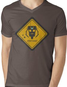 Caution: Irritant Mens V-Neck T-Shirt