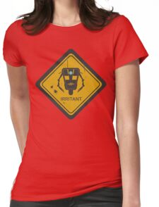 Caution: Irritant Womens Fitted T-Shirt