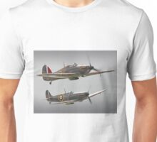Hurricane And Spitfire Battle Of Britain Unisex T-Shirt
