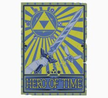 Wanted: Hero of Time Kids Tee