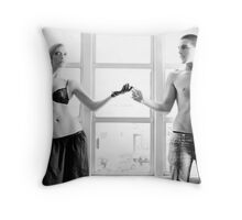 Electric Touch Throw Pillow