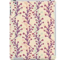Pattern with plants iPad Case/Skin