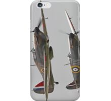 Hurricane And Spitfire Battle Of Britain iPhone Case/Skin