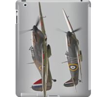 Hurricane And Spitfire Battle Of Britain iPad Case/Skin