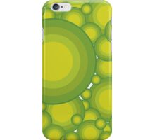 The Green bubbles iPhone Case/Skin