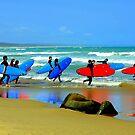 """ Surf School "" by helmutk"