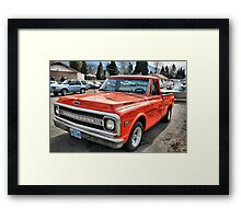 '72 Chevy C10 Framed Print