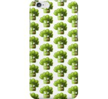 Funny Cartoon Broccoli iPhone Case/Skin