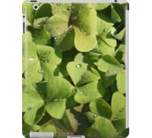 Dew on the Clover iPad Case/Skin