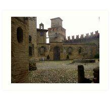 Vigoleno - the Castle-Village Art Print