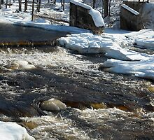 Millers River S Royalston MA by Rebecca Bryson