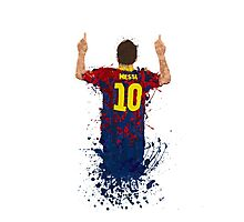 Messi Photographic Print
