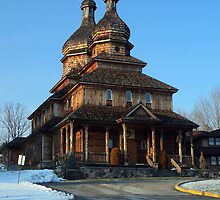 Wooden Domed Church by GPMPhotography