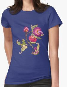 Fantasy garden, watercolor painted flowers T-Shirt