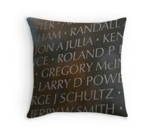 Vietnam Memorial Throw Pillow