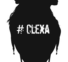 Silhouettes - #Clexa by Blackrising