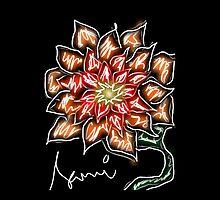 Evening chrysanthemum by namelessdoll