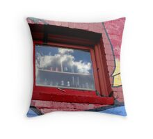 Cloudy Outlook Throw Pillow