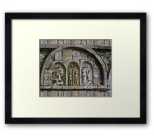 Relief Detail - Ardmore Waterford Framed Print