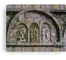 Relief Detail - Ardmore Waterford Canvas Print