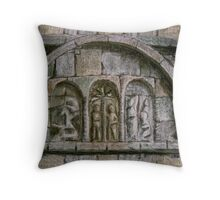 Relief Detail - Ardmore Waterford Throw Pillow