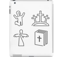 Salvation Icons iPad Case/Skin
