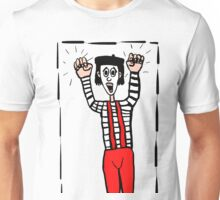 A Boxed in Mime Unisex T-Shirt