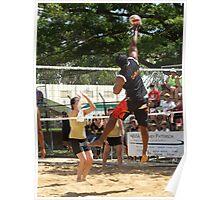 Coota Beach Volleyball Poster