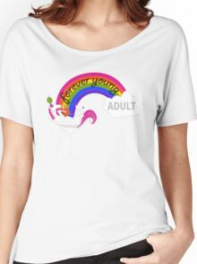 Forever Young Adult Official Logo Women's Relaxed Fit T-Shirt